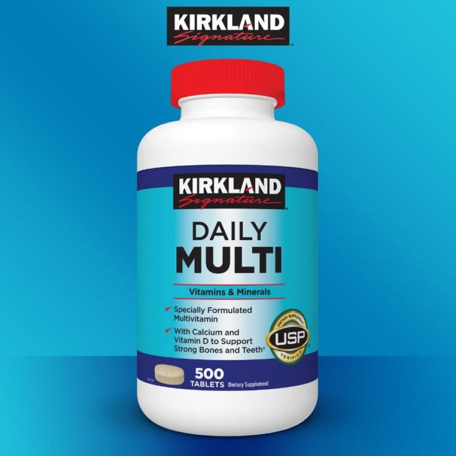 Viên Uống Bổ Sung Vitamins Tổng Hợp Kirkland Daily Multi Vitamins