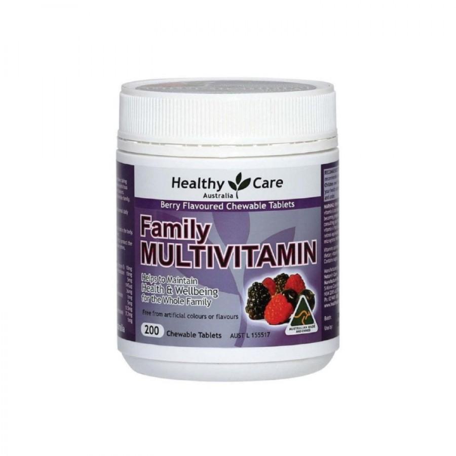 Vitamin Tổng Hợp Healthy Care Family Multivitamin Cho Gia Đình