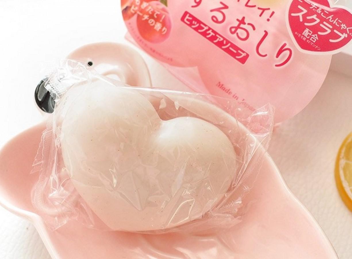 Xà Phòng Cải Thiện Thâm Mông Pelican Hip Care Soap Nhật Bản