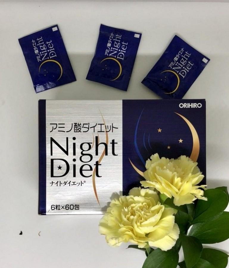 Viên Uống Giảm Cân Ban Đêm Orihiro Night Diet