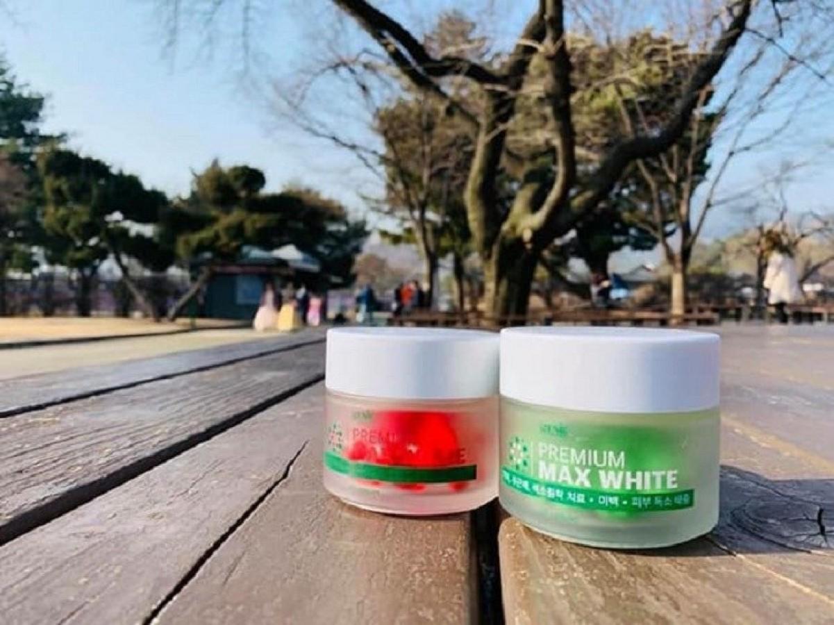 Viên Uống Trắng Da Premium Max White Của Hàn Quốc