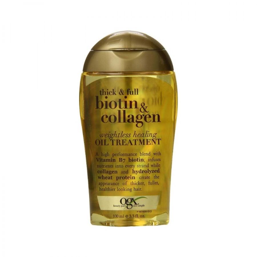 Tinh Dầu Dưỡng Tóc OGX Biotin & Collagen 100ml