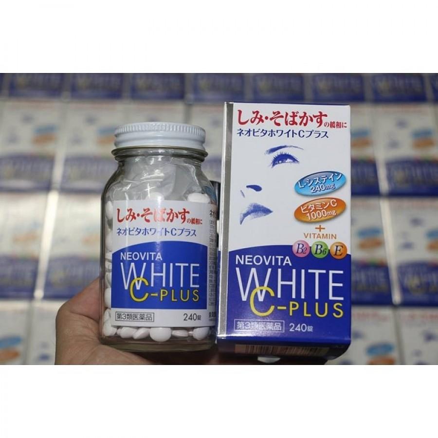Viên Uống Trắng Da Vita White Plus 240 Viên Của Nhật