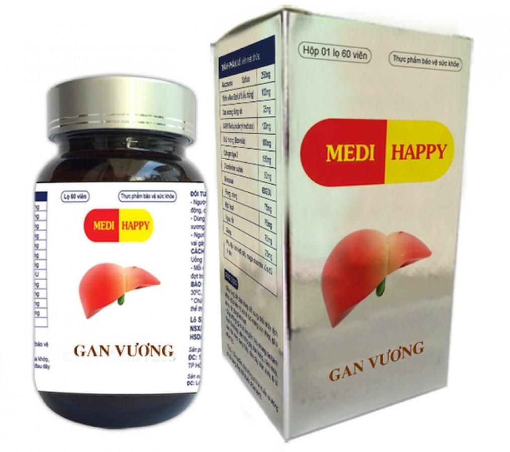 Viên Uống Gan Vương Medi Happy