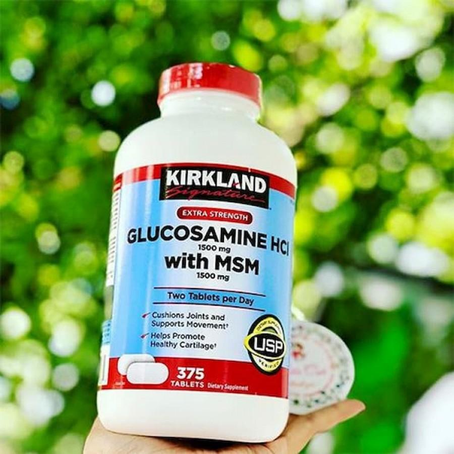 Viên Uống Bổ Khớp Kirkland Glucosamine HCL 1500mg Mỹ