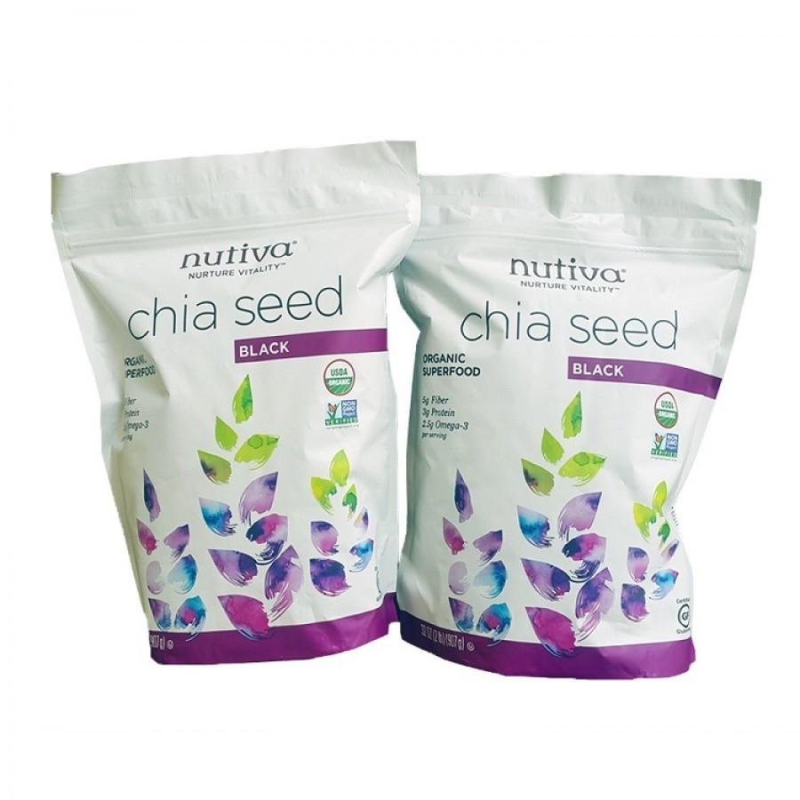 Hạt Chia Seed Nutiva 907g