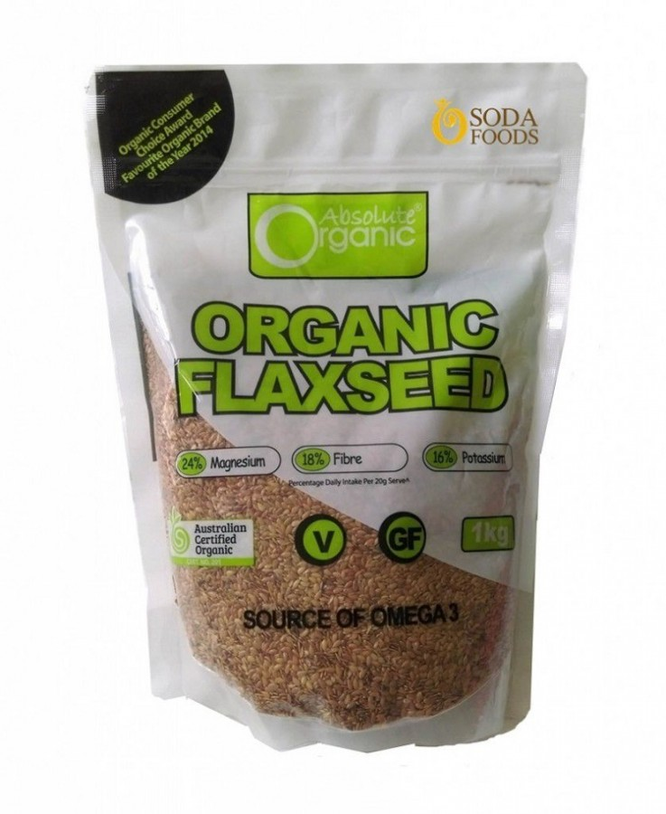 Hạt Lanh Absolute Organic Flaxseed
