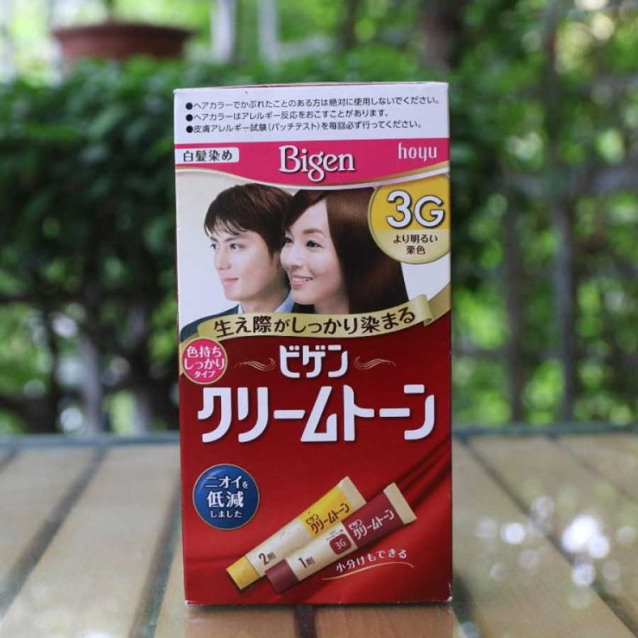 Kem Nhuộm Tóc Bigen Nhật Bản