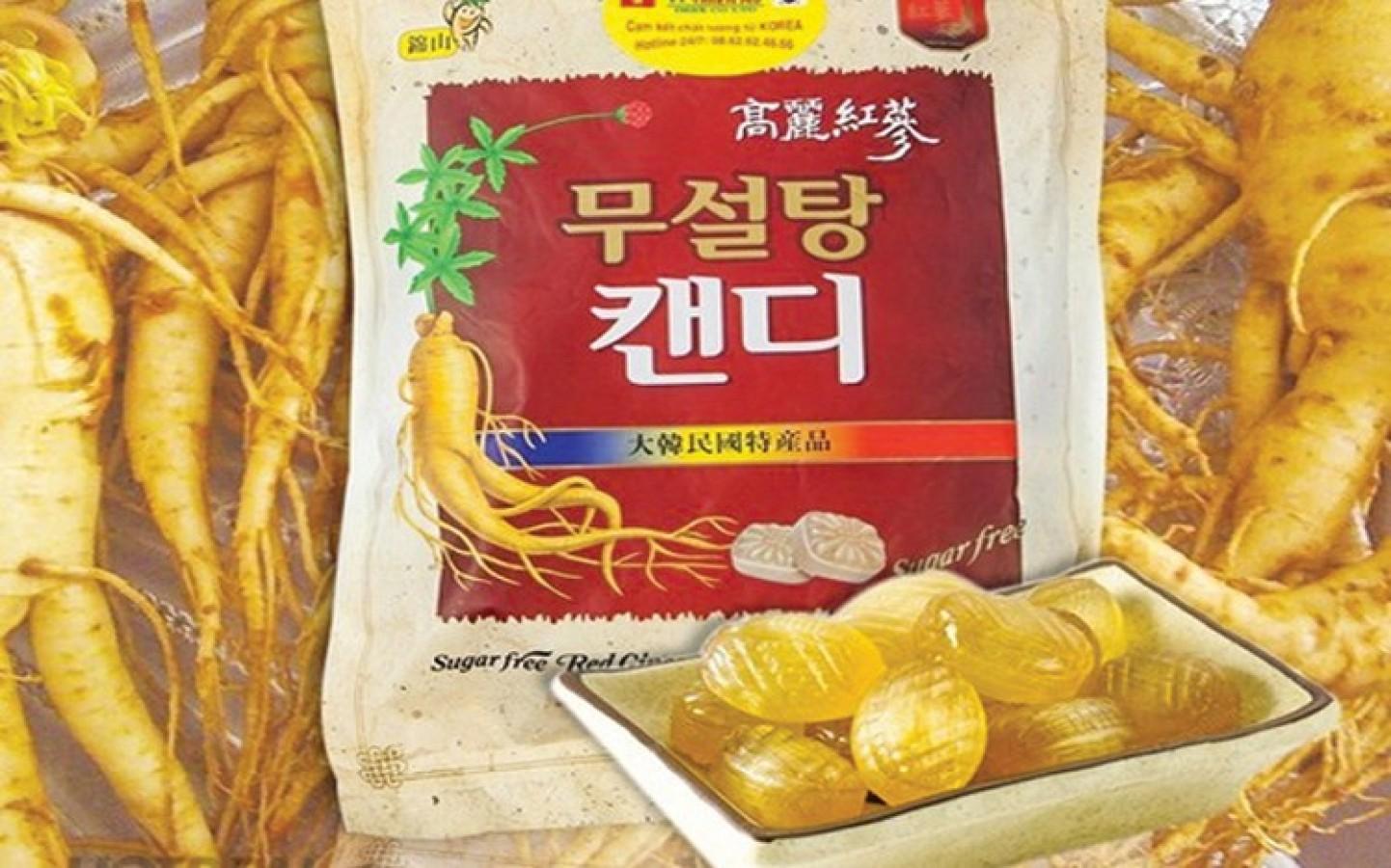Kẹo Hồng Sâm Không Đường Hàn Quốc