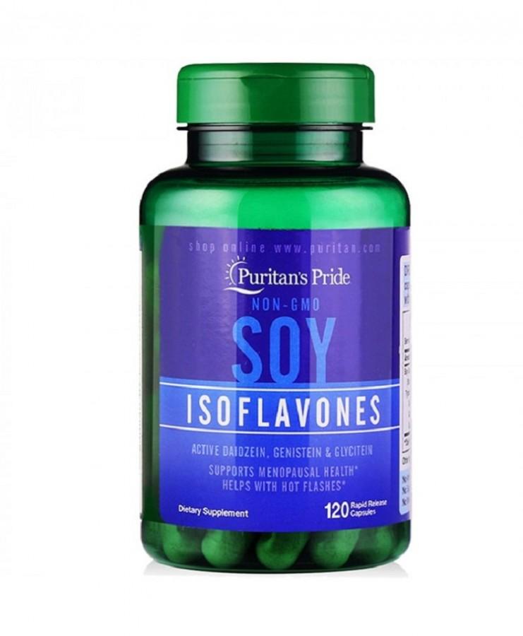 Mầm Đậu Nành Estrogen Non-GMO Soy Isoflavones Của Mỹ
