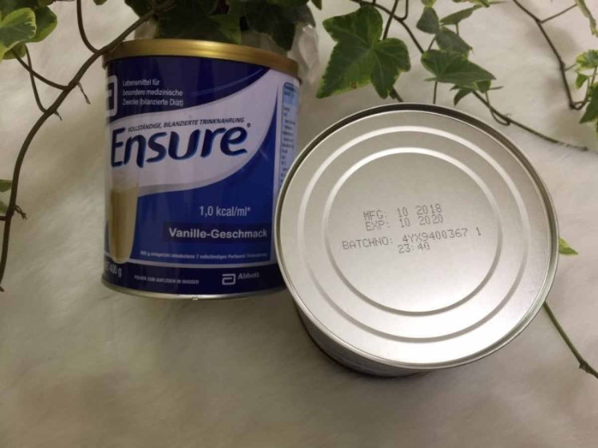 Sữa Ensure Đức Cho Mọi Lứa Tuổi