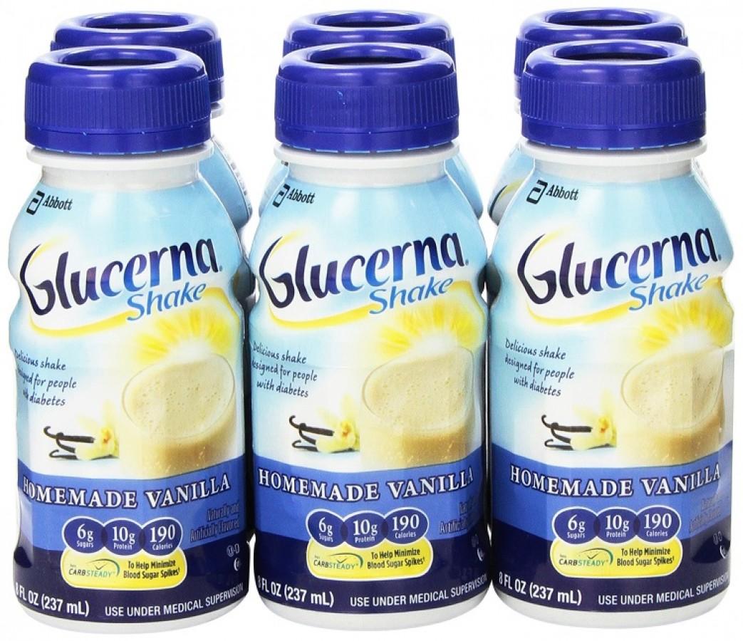 Sữa Nước Glucerna Dành Cho Người Bị Tiểu Đường
