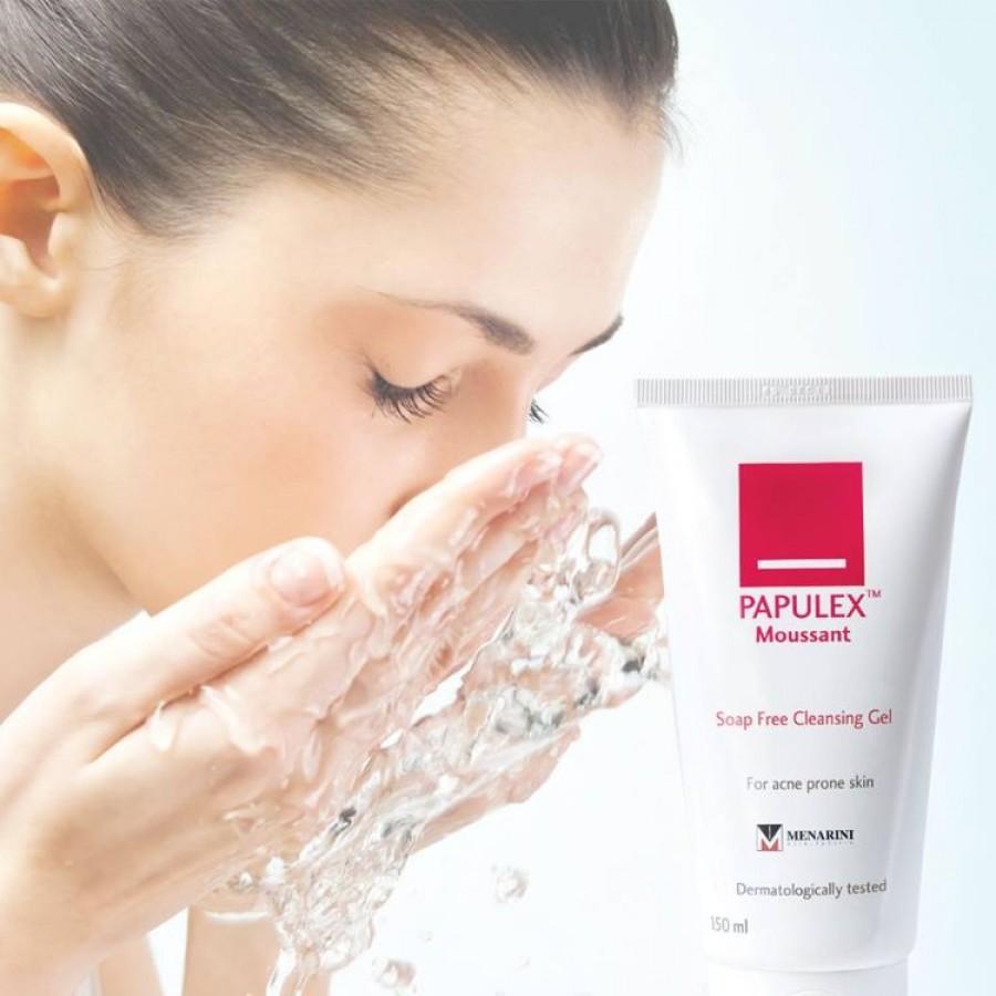 Sữa Rửa Mặt Papulex Moussant Soap Cleansing