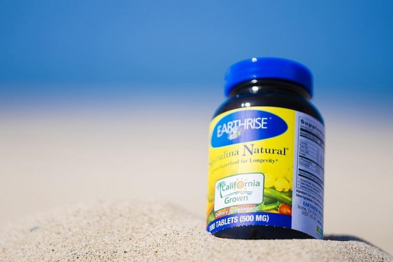 Tảo Mặt Trời Earthrise Spirulina Natural Powder
