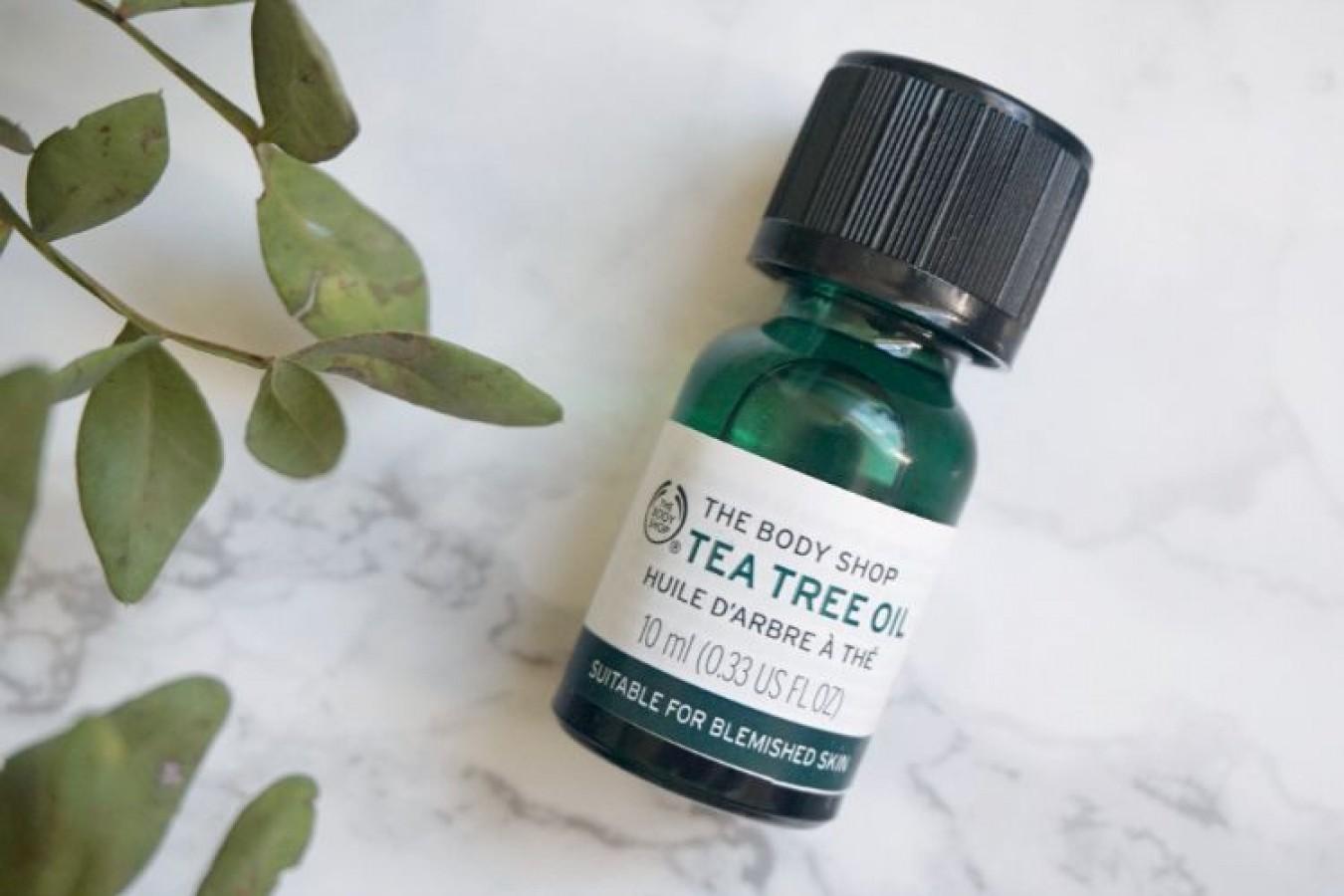Tinh Dầu Tràm Trà Tea Tree Oil The Body Shop Hỗ Trợ Cải Thiện Mụn