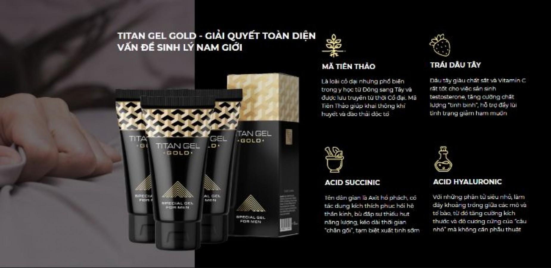 Titan Gel Gold Của Nga