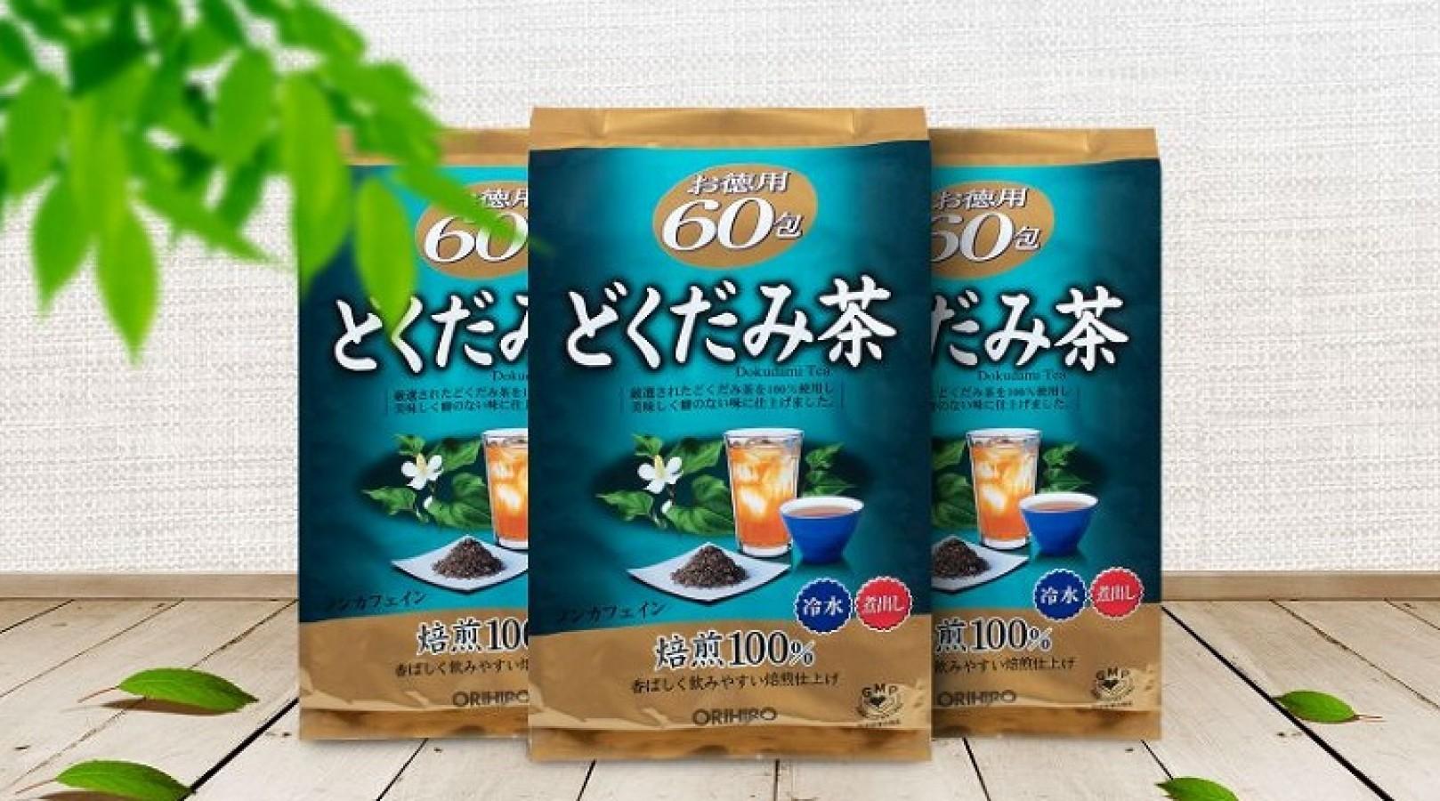 Trà Diếp Cá Dokudami Orihiro Thanh Lọc Cơ Thể Của Nhật
