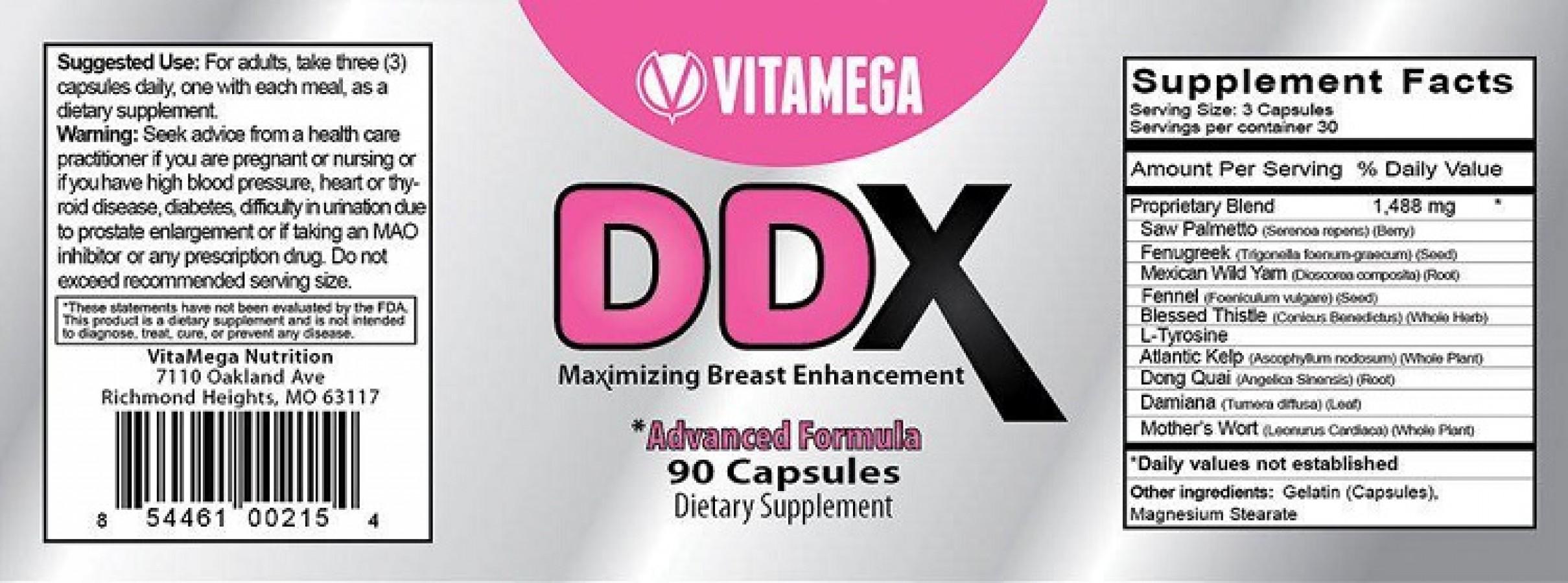 Viên Nở Ngực DDX Của Mỹ