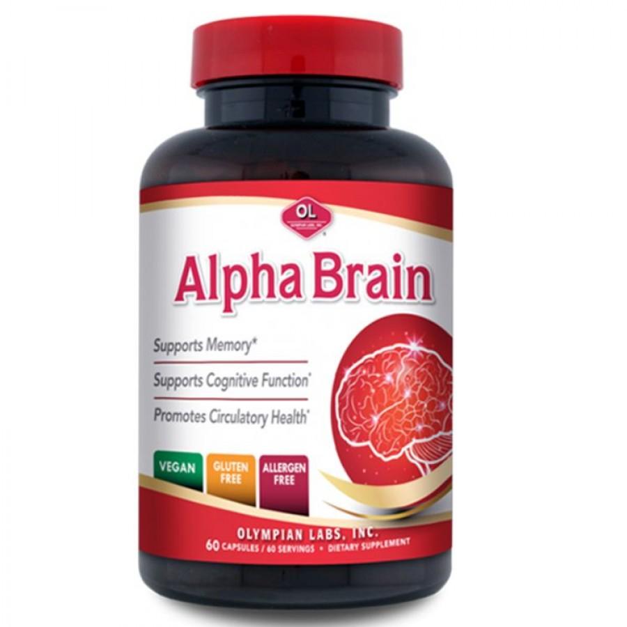 Viên Uống Bổ Não Alpha Brain Của Mỹ