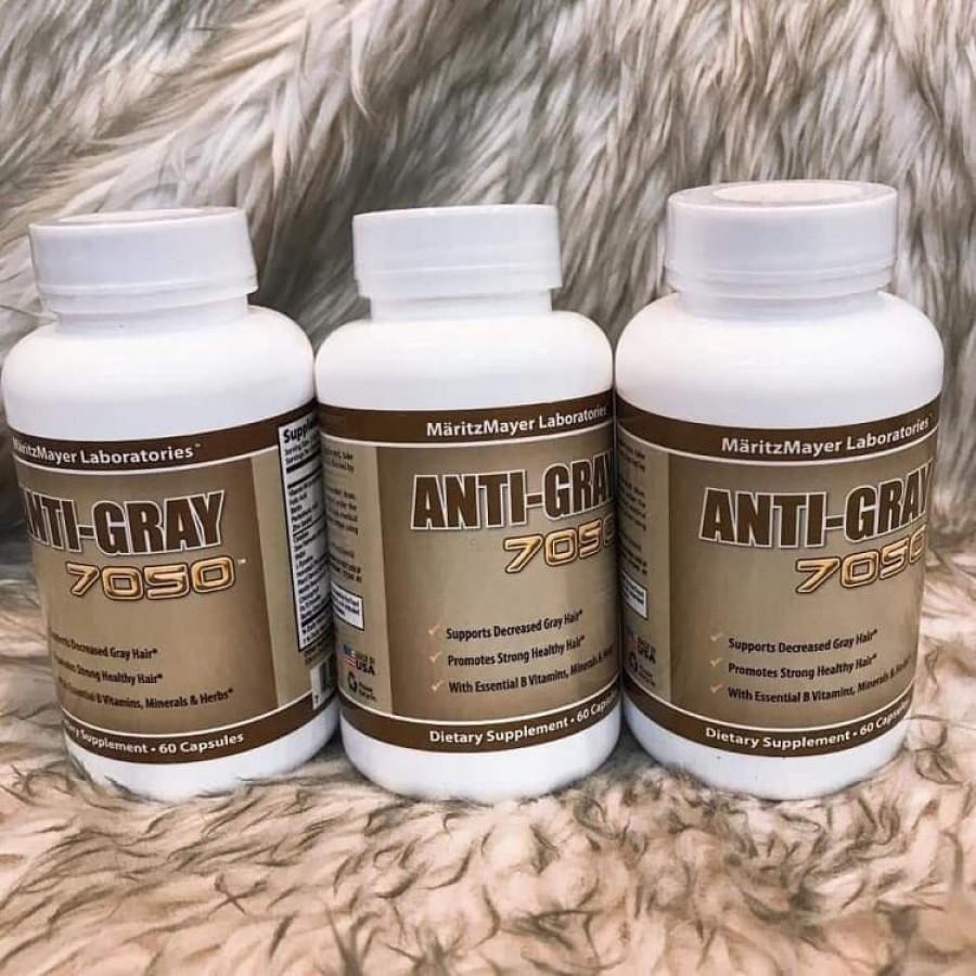 Viên Uống Anti Gray Hair Cải Thiện Tóc Bạc Sớm