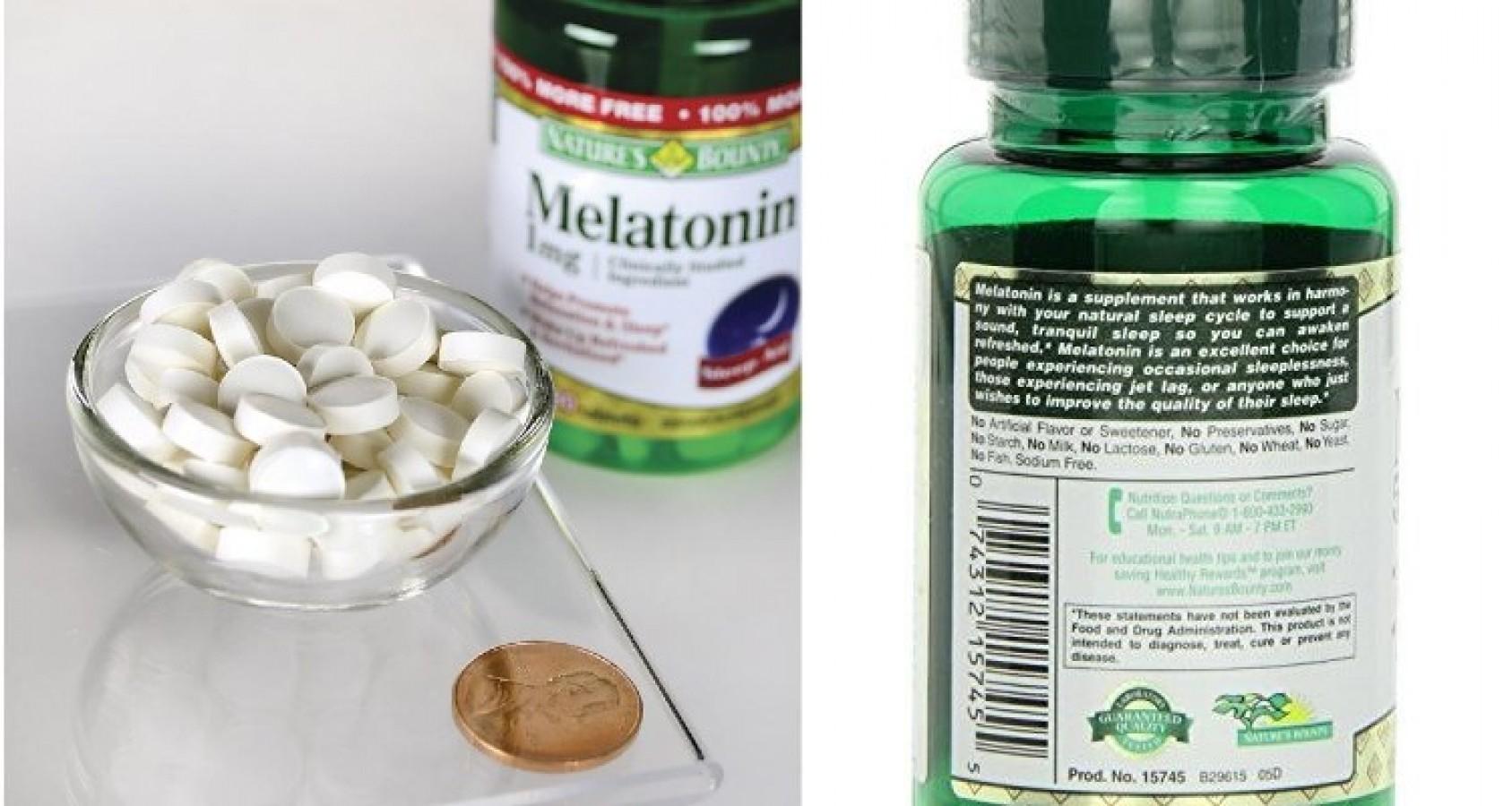Viên Uống Cải Thiện Giấc Ngủ Nature's Bounty Melatonin