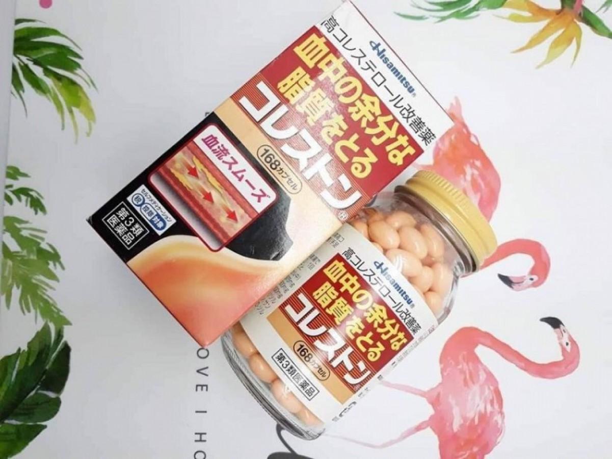 Viên Giảm Mỡ Máu & Cholesterol Hisamitsu