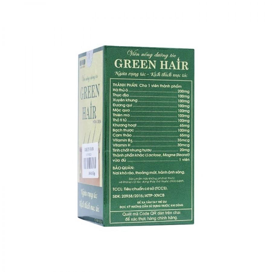 Viên Uống Green Hairdưỡng Tóc