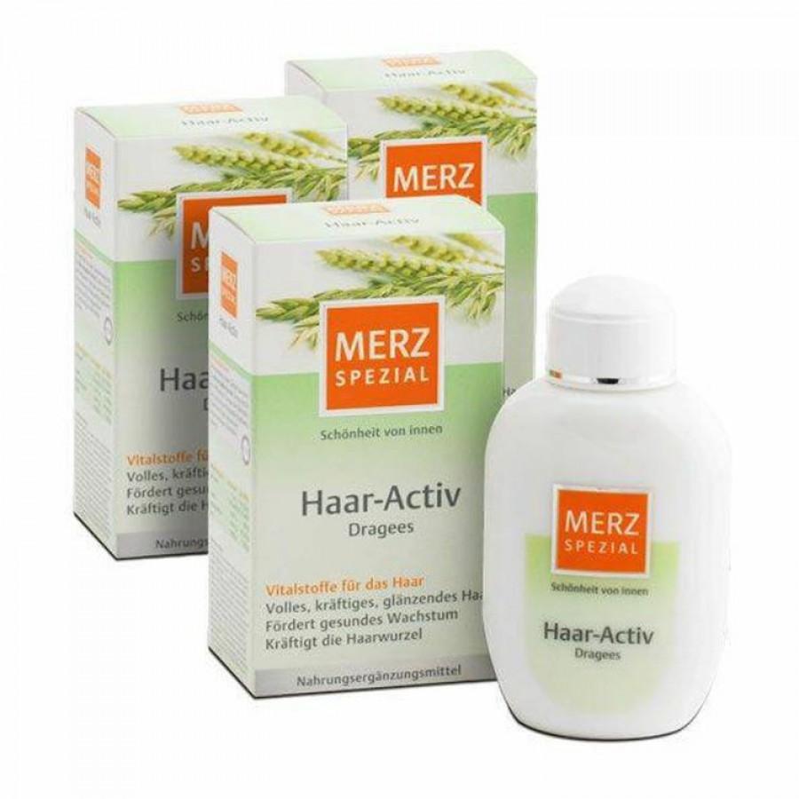 Viên Uống Mọc Tóc Merz Special Hair Active Dragees