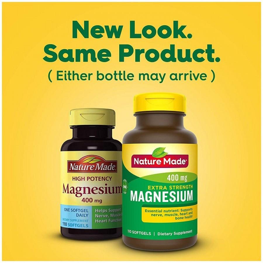 Viên Uống Nature Made Magnesium