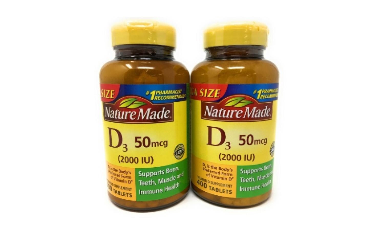 Viên Uống Nature Made Vitamin D3 Của Mỹ