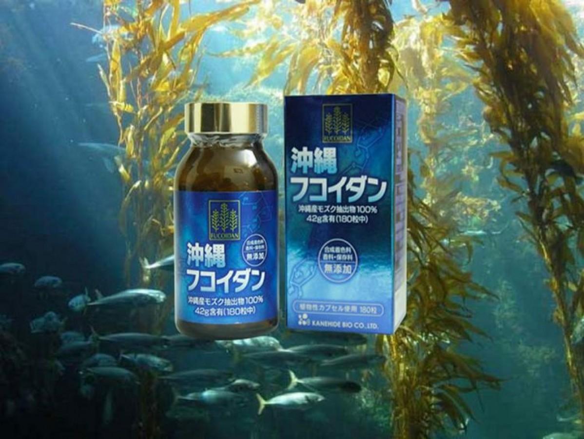 Viên Uống Okinawa Fucoidan Của Nhật 180 Viên