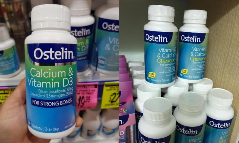 Ostelin Vitamin D & Calcium Cho Bà Bầu Của Úc