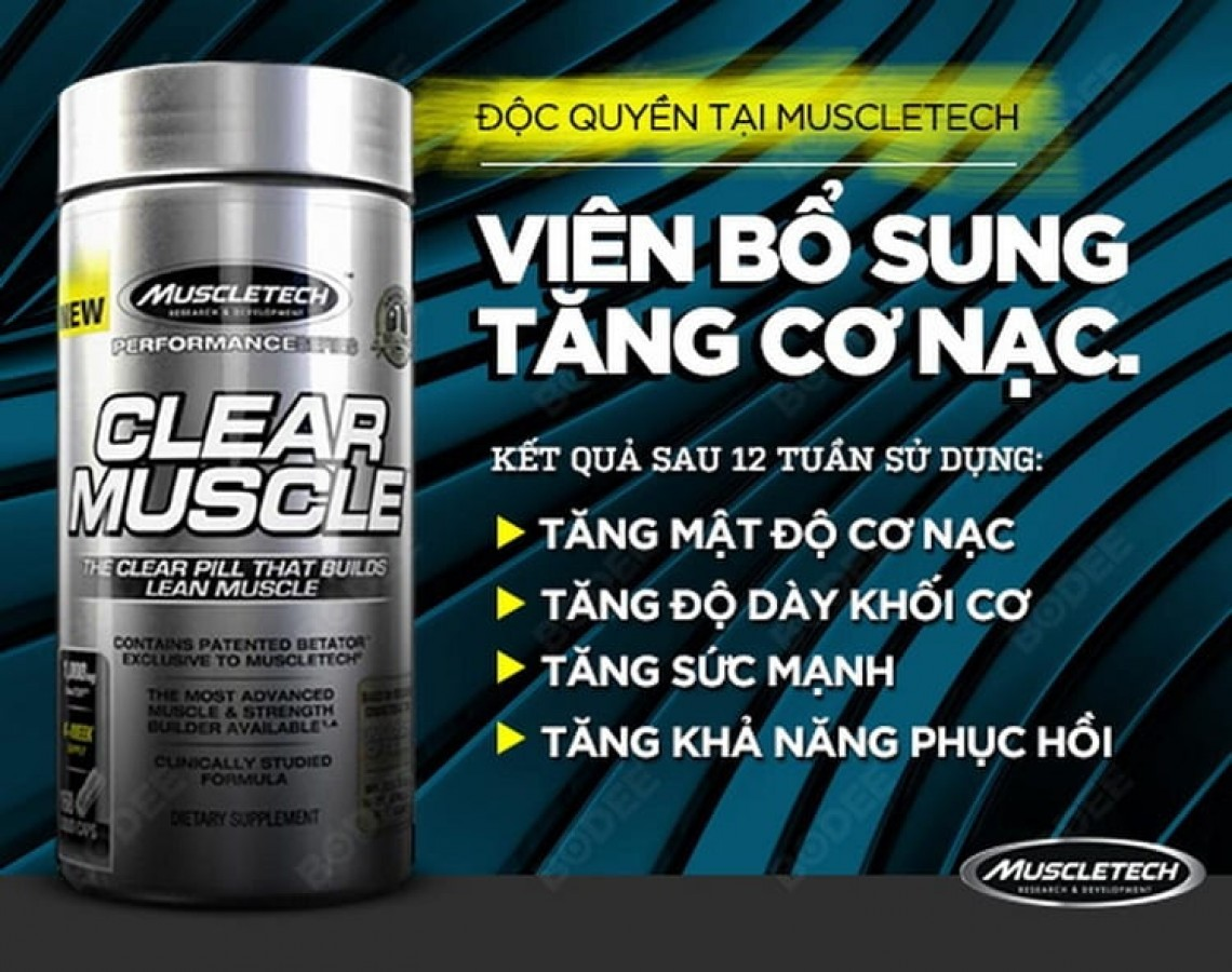 Viên Uống Tăng CơClear Muscle