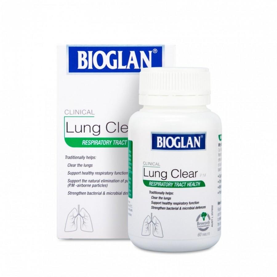Viên Uống Thanh Lọc Phổi Bioglan Lung Clear