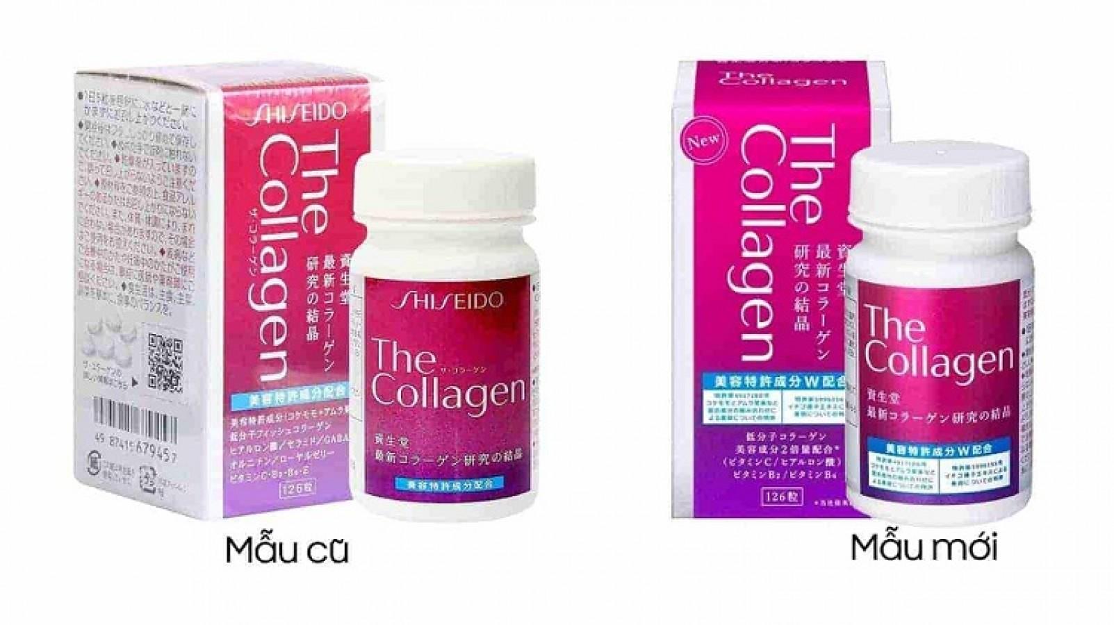 The Collagen Shiseido Dạng Viên Hộp 126 Viên