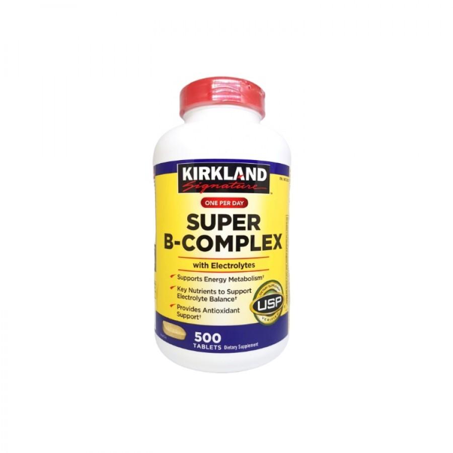 Vitamin B Tổng Hợp Super B-Complex Kirkland