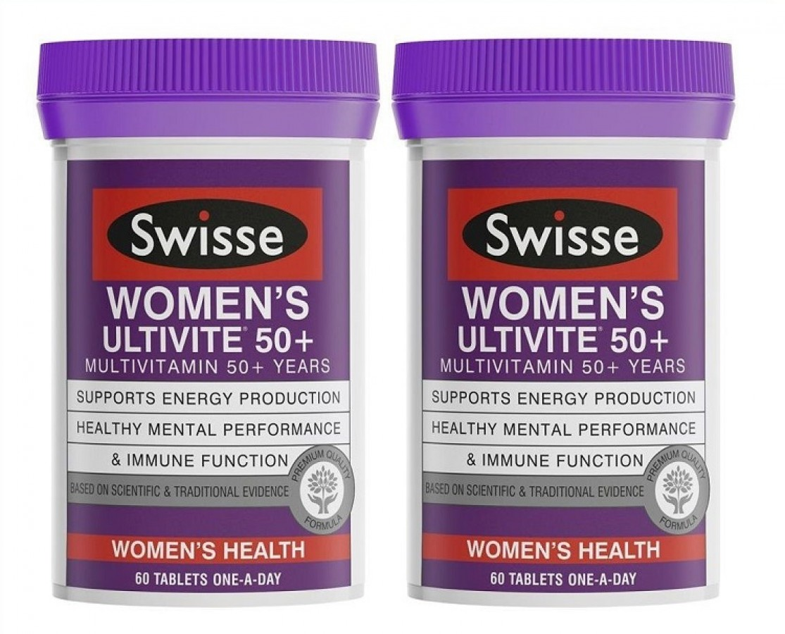 Vitamin Cho Phụ Nữ Trung Niên Swisse Women's Ultivite 50+