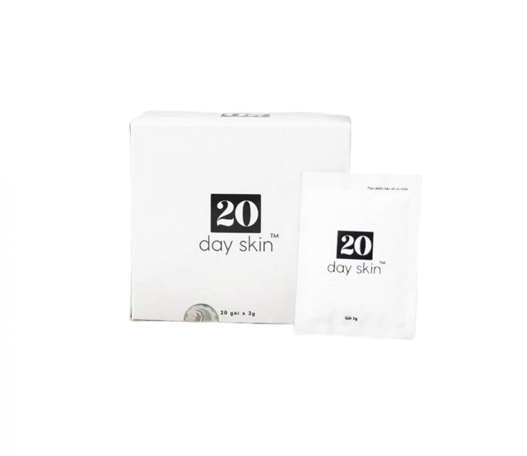 20 Day Skin Plus Hỗ Trợ Trị Mụn, Trắng Da