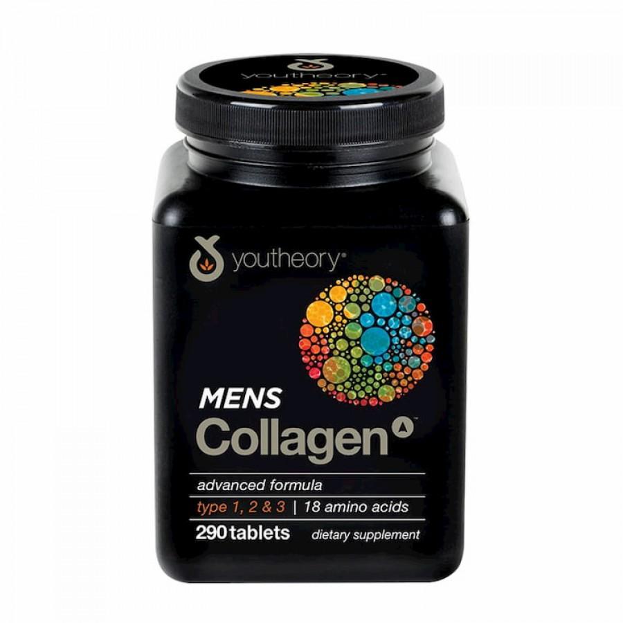 Viên Uống Collagen Cho Nam Youtheory Men's Type 1, 2 & 3