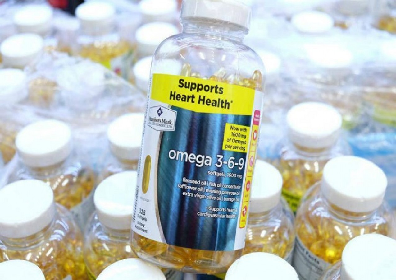 Omega 3-6-9 Member's Mark Supports Heart Health325 Viên Của Mỹ
