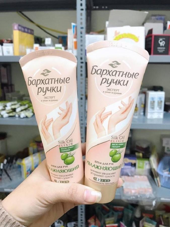 Kem Dưỡng Da Tay Silky Hands Của Nga