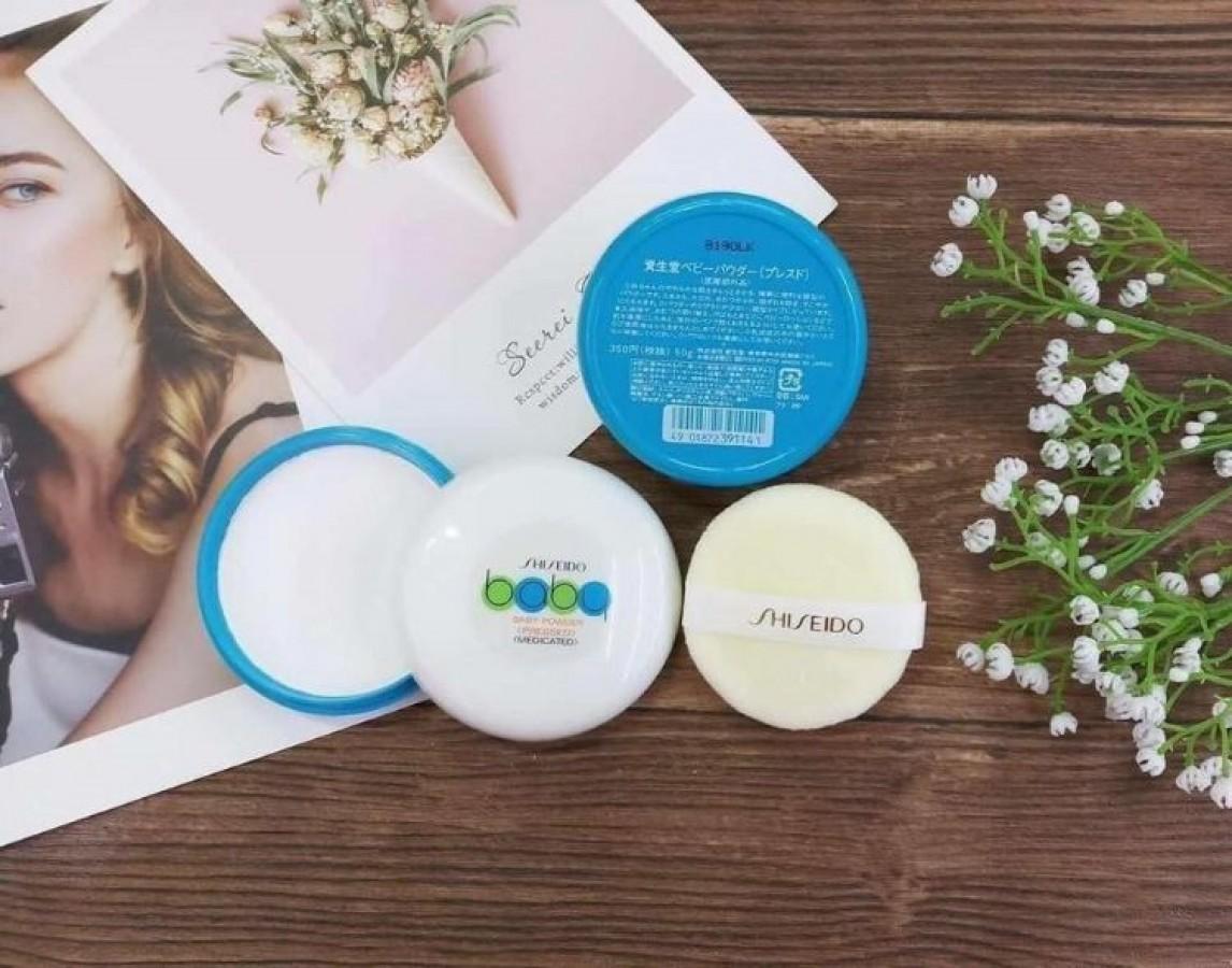 Phấn Rôm Nén Shiseido Baby Powder 50g