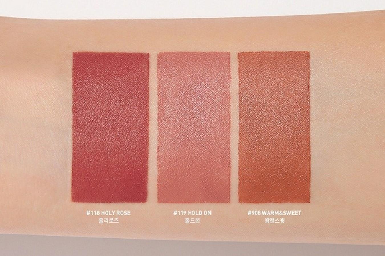 Son 3CE Lily MayMac Matte Lip Color Tone Nude 908