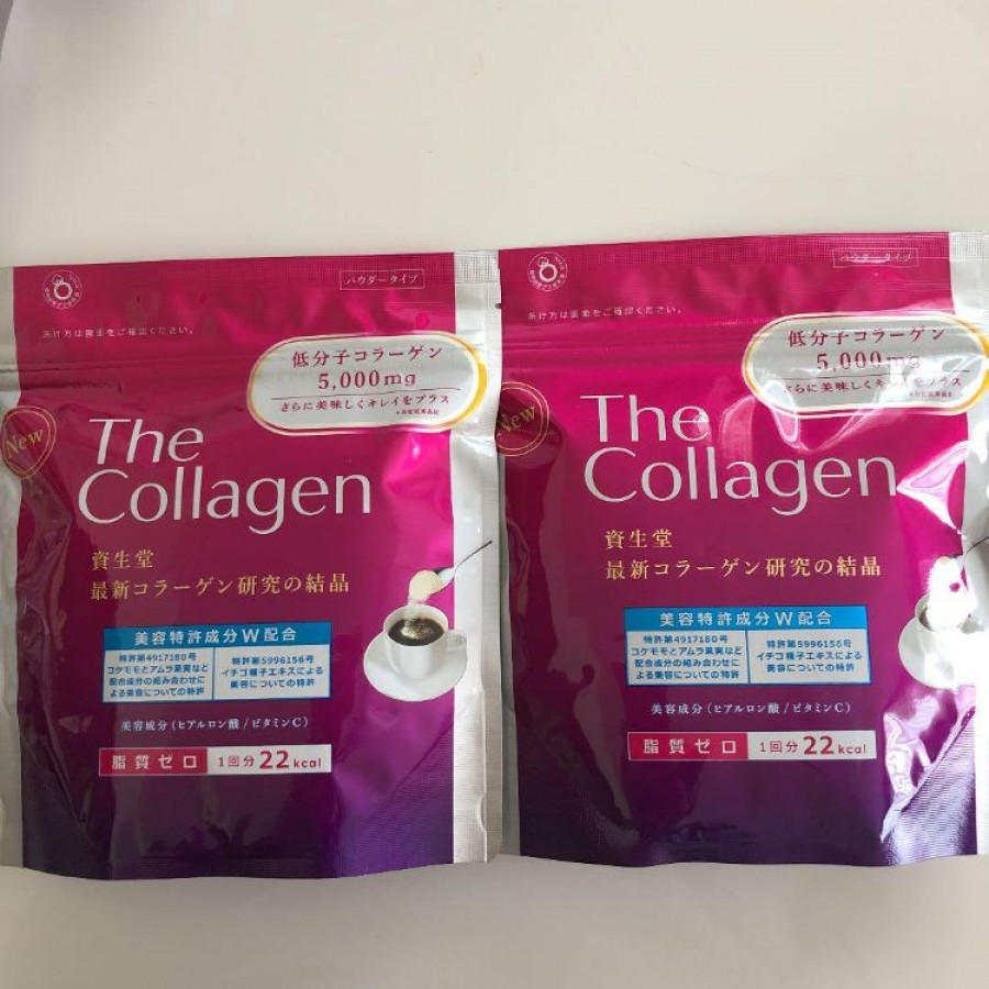 The Collagen Shiseido Dạng Bột 126g