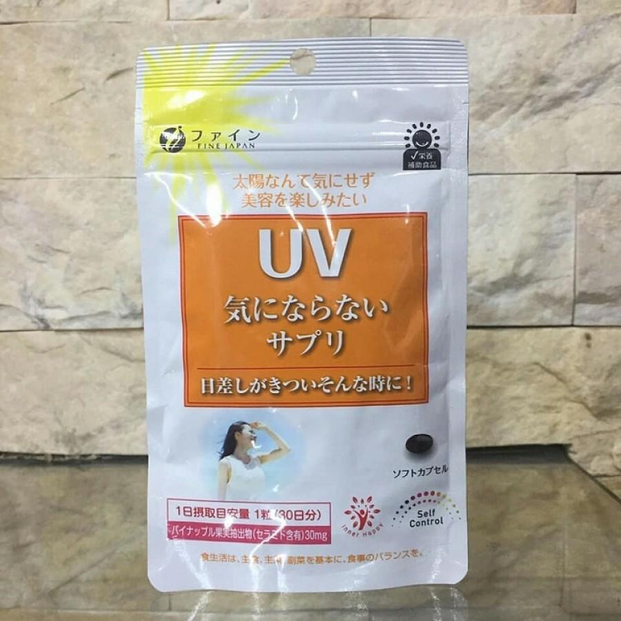 Viên Chống Nắng UV Fine Japan