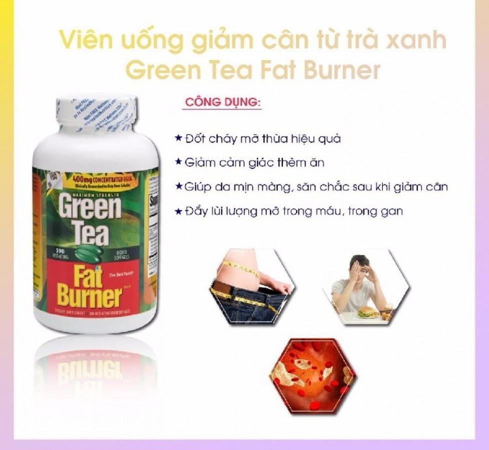 Viên Uống Giảm Cân Green Tea Fat Burner