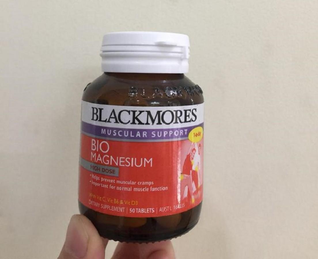 Viên Uống Vitamin & Khoáng Chất Blackmores Bio Magnesium