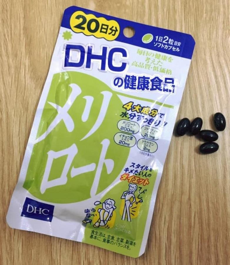 Viên Uống Giảm Mỡ Đùi DHC 40 Viên