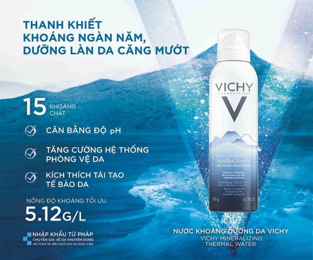 Xịt Khoáng Vichy Thermal Spa Water Của Pháp