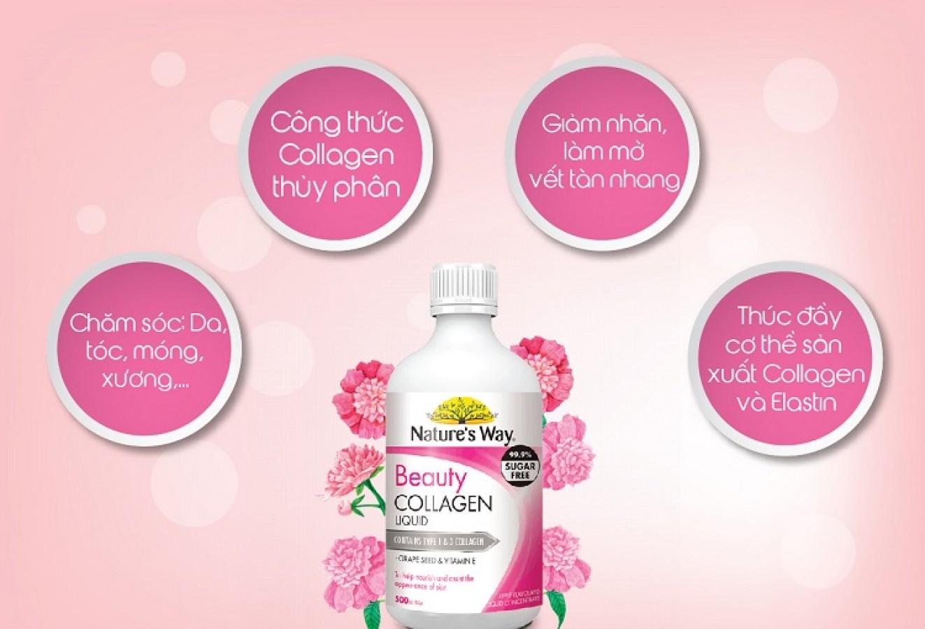 Nature's Way Beauty Collagen Liquid 500ml